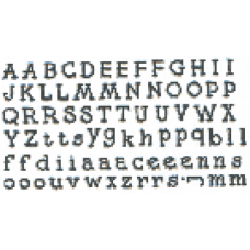 Alphabet Set Stamp