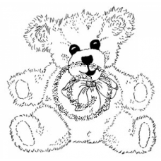 Big Bear Cling Stamp