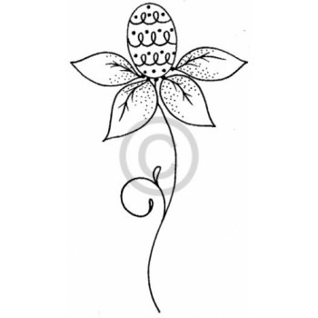 Blooming Egg Cling Stamp