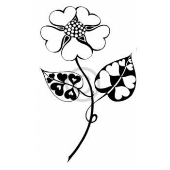 Blooming Love Cling Stamp