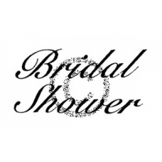 Bridal Shower Cling Stamp