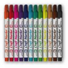 Craft Marker Set, Alcohol (set 12)