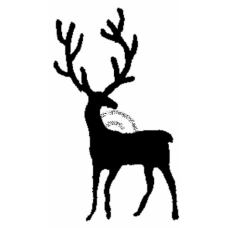 Deer Cling Stamp