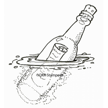 Wish in a Bottle Digital Stamp