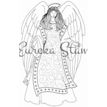 Guardian Angel Digital Stamp