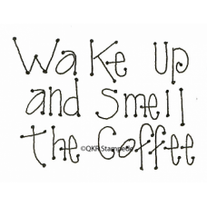 Smell the Coffee Digital Stamp