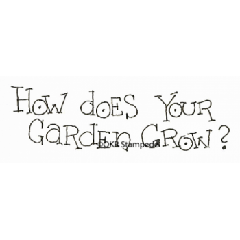 Garden Grow Digital Stamp