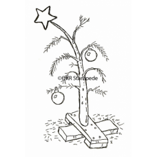 The Perfect Christmas Tree Digital Stamp