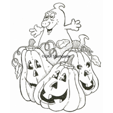 Halloween Fun Digital Stamp