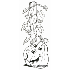 Pumpkin Vine Digital Stamp