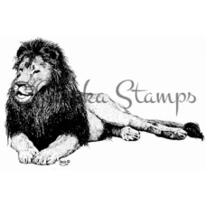 Lion Digital Stamp