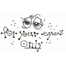Your Eyes Only Digital Stamp