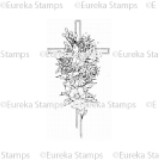 Cross with Flowers Digital Stamp
