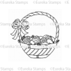 Basket of Eggs Digital Stamp