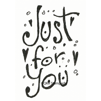 Just For You Digital Stamp