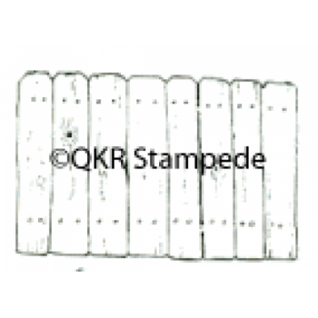 Wooden Fence Digital Stamp