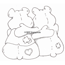 Bear Hugs Digital Stamp