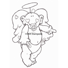 Baby Angel Digital Stamp