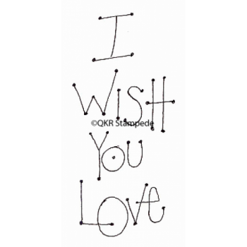 Wish You Love Digital Stamp