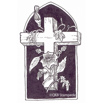 Cross Digital Stamp