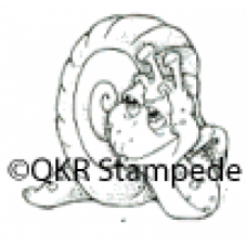 Smiling Snail Digital Stamp