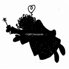 Angel Silhoutte Digital Stamp