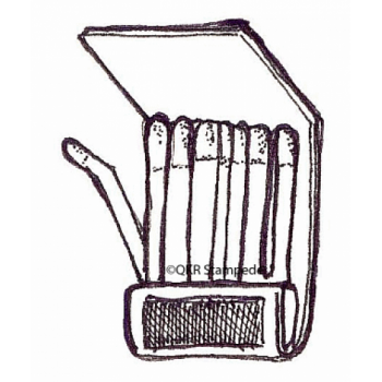 Book of Matches Digital Stamp