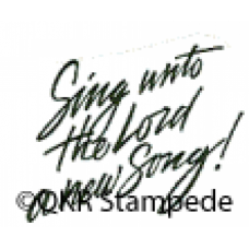 A New Song Digital Stamp