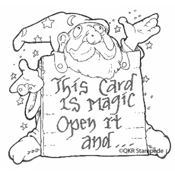 Magic Card Digital Stamp