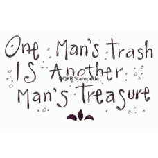 One Man's Trash Digital Stamp