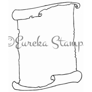 Scroll Frame Digital Stamp