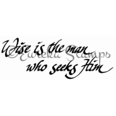 Wise is the Man Digital Stamp