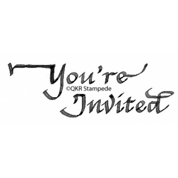 You're Invited Digital Stamp