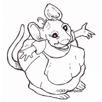 Mouse Digital Stamp