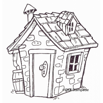 Cottage Digital Stamp