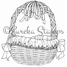 May Basket Digital Stamp