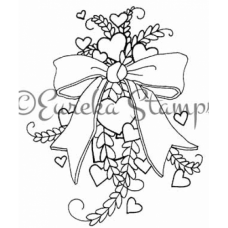 Heart Bouquet Digital Stamp