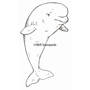 Dolphin Digital Stamp