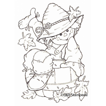 Scarecrow Digital Stamp