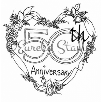 50th Anniversary Digital Stamp