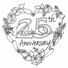 25th Anniversary Digital Stamp
