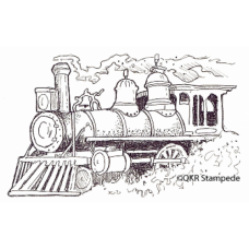 Train Digital Stamp
