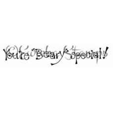 Beary Special Digital Stamp