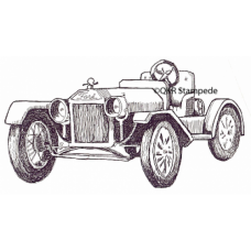 Old Car Digital Stamp