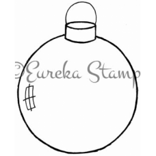 Clear Ornament Digital Stamp