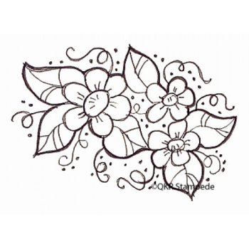 Flower Bouquet Digital Stamp