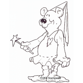 Wizard Bear Digital Stamp