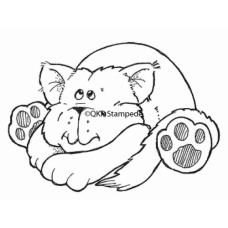 Cozy Kitty Digital Stamp