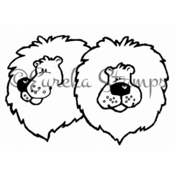 Lions for Train Digital Stamp