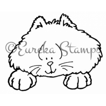 Kitty Peeker Digital Stamp
